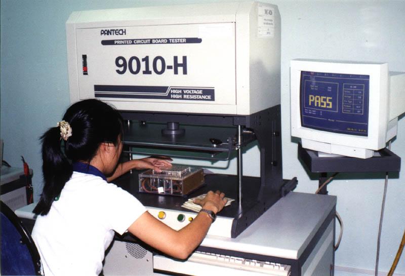 电路板铜箔回路测试